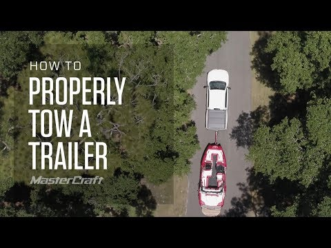 HOW TO PROPERLY TOW A BOAT TRAILER