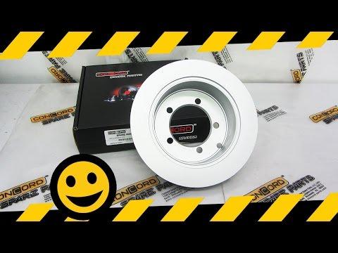 Замена задних тормозных дисков Concord BR2-0110 на Nissan Qashqai