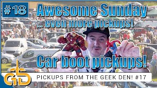 Awesome Sunday Car Boot | Pickups From The Geek Den!! #18 | Disney, Xbox, Playstation, Nintendo
