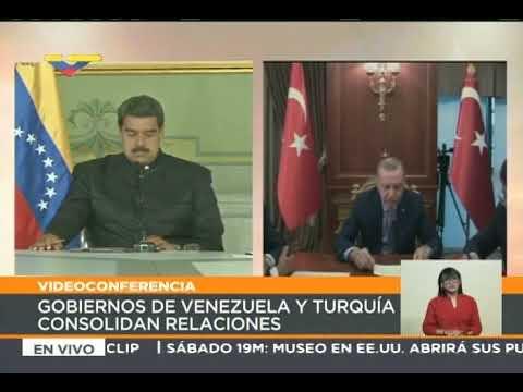 Erdogan, Presidente de Turquía: El 20 de mayo llegarán a Venezuela 318 containers desde Turquía