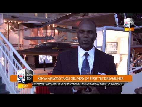 KENYA AIRWAYS CEO TITUS NAIKUNI SALUTES DIASPORA