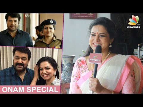 """Sheelu Abraham: """"I respect Mammooty, but Mohanlal is inexpressible"""" 
