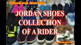 JORDAN SHOES COLLECTION OF A RIDER