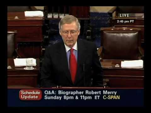 Sen. Durbin Corrects Sen. McConnell On Senate Procedure