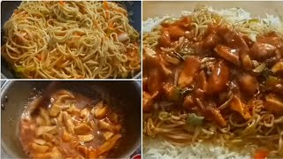 Singaporean Rice Recipe | Singaporean Rice With Chicken And Noodles | Cook With Lubna ❤️