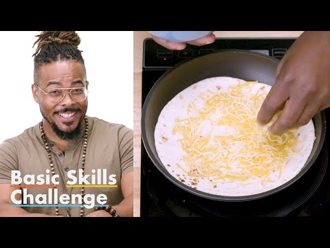 50 People Try to Make a Quesadilla | Epicurious