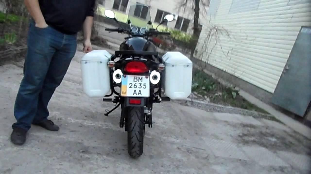85e004c3dc86 Кофры на мотоцикл своими руками 3 - YouTube