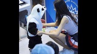161215 김연정 치어리더 cheerleader - 귀여운 팬더곰과의 만남 [FANCAM/직캠] # 현대캐피탈