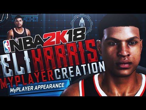 NBA 2K18 MyCAREER - The Creation Of Eli Harris! The Neighborhood, Barbershop & More!