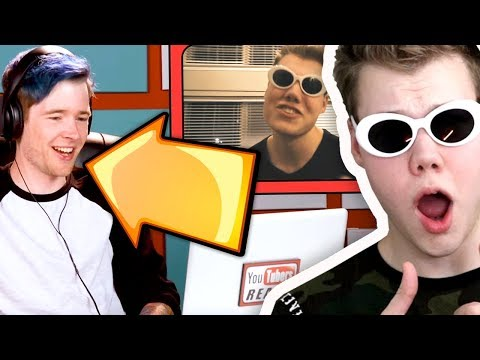 "WATCHING YOUTUBERS REACT TO ""PRESTONPLAYZ ROBLOX"" MUSIC VIDEO!!"