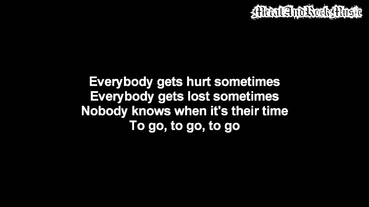 Three Days Grace - The End Is Not The Answer | Lyrics on screen | HD
