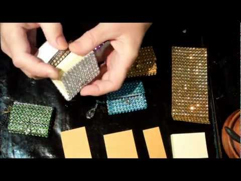 Bling mini sticky note holder