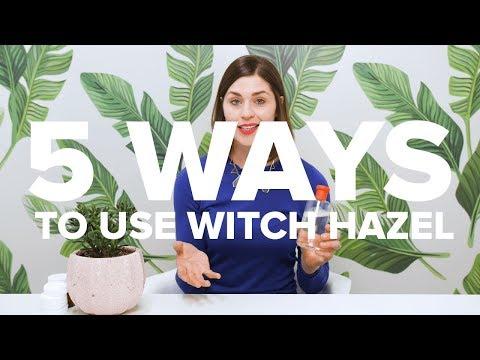 5 WAYS to use WITCH HAZEL | #5things5WAYS