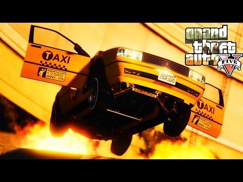 CRAZY TAXI (LASALLE PARKOUR) - GTA 5 ONLINE