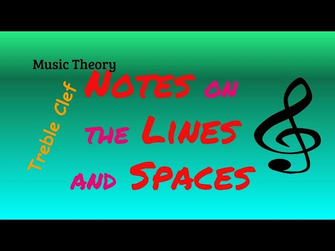 How to Read Music Notes Treble Clef for Beginners   Lesson 1