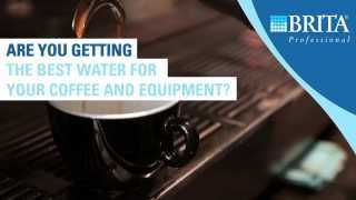 Are you getting the best water for your coffee and equipment?