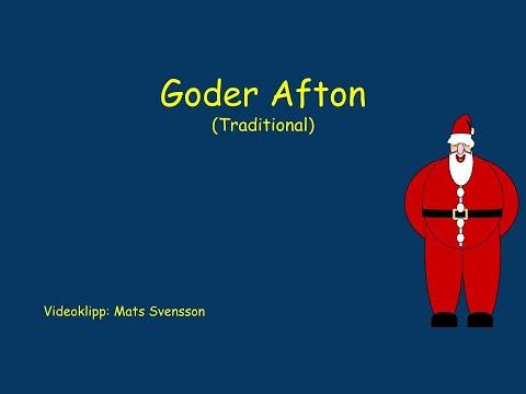 Goder Afton Goder Afton - Instrumental med text