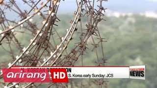 N. Korean man crosses border to defect to S. Korea