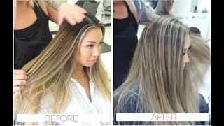 VBLOG 1 - Blending Ombre Hair on Dannie Riel