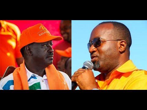 Raila Odinga ,Kalonzo Musyoka and Gov.Joho eulogizes Gen. Joseph Nkaissery