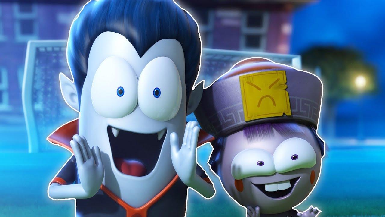 Funny Animated Cartoon Spookiz Football Day 스푸키즈 Kids