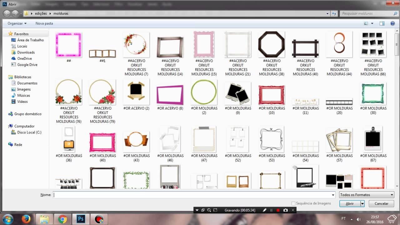 Molduras de fotos para o orkut 51