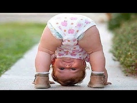 Funny Baby Makes Strange Things - Funny Baby Videos