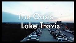 The Oasis Restaurant - Lake Travis - Austin, Texas (4K DRONE VIDEO)