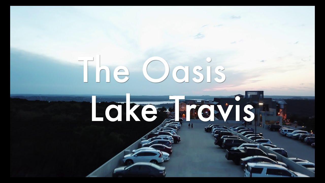 The Oasis Restaurant   Lake Travis   Austin, Texas (4K DRONE VIDEO)