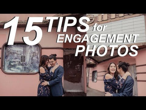 15 Poses For Engagement Photos | How To Capture Candid Walking + Movement Poses