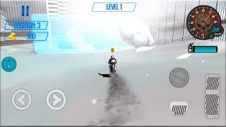 Snow Storm Moto Avalanche: Mountain Bike Climbing - Gameplay Android game