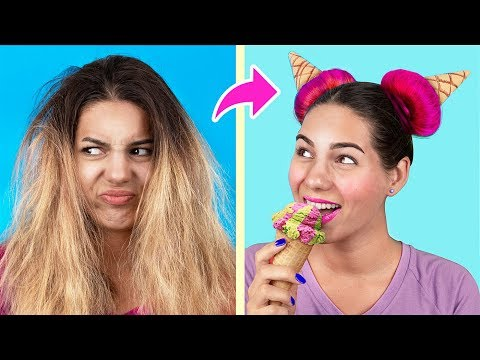 15 Hair Hacks And Hairstyles Every Girl Should Know!