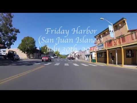 Epic Bike Ride Around Friday Harbor (San Juan Islands)