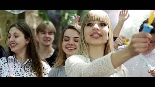 Яркий клип для Выпускников. Съемка с высоты и земли. Квадрокоптер Харьков