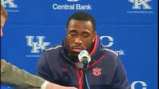 Kentucky Wildcats TV: Auburn Postgame Press Conference