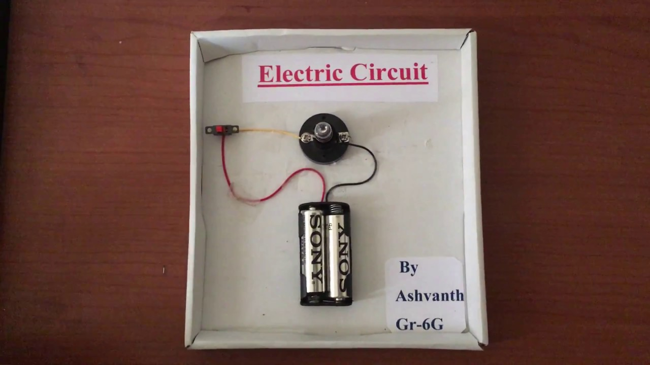 Simple Electric Circuit Science Project