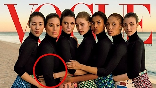 Did Vogue Photoshop Gigi Hadid's Arms to Help Hide Ashley Graham's Body on Magazine Cover?!