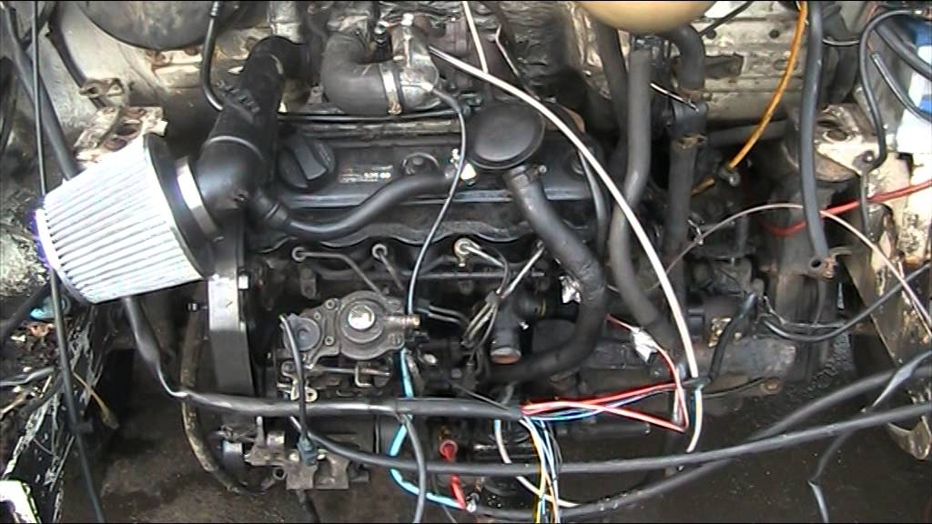 vw transporter t4 1 9 tdi engine conversion YouTube