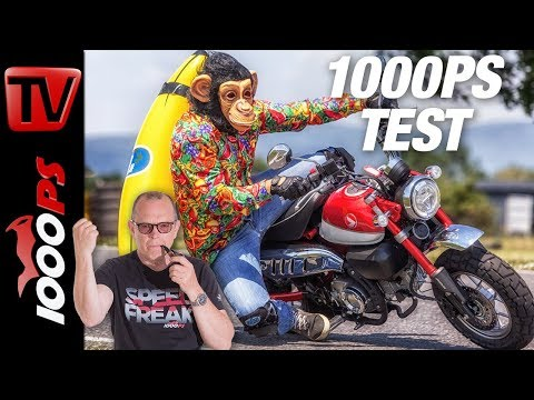 Hanging-Aff - Honda Monkey Test 2018 - Zonkichitta on fire