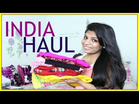 India HAUL | Clothing Jewelry Skin care  | SuperPrincessjo