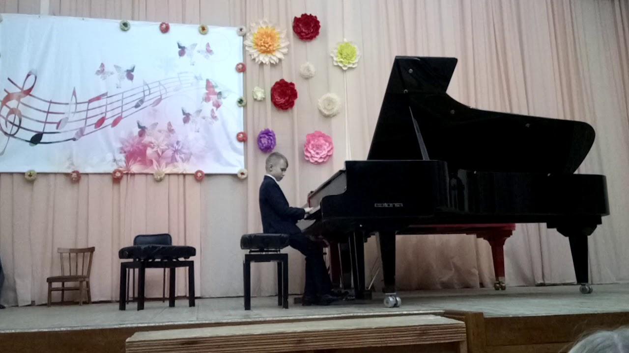 """""""Дождь и радуга"""" С. Прокофьев исполняет Ивлев Артём - YouTube"""
