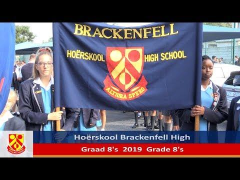 HS Brackenfell se Graad 8's van 2019
