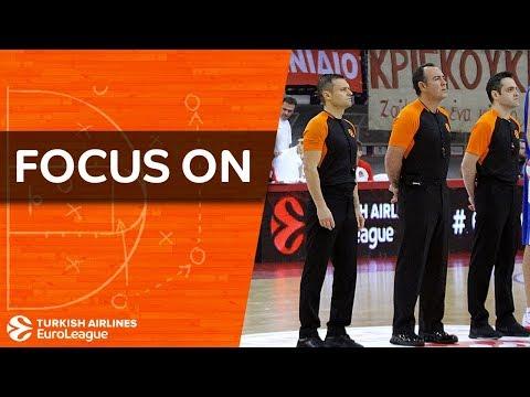 Focus on: Euroleague Basketball referees