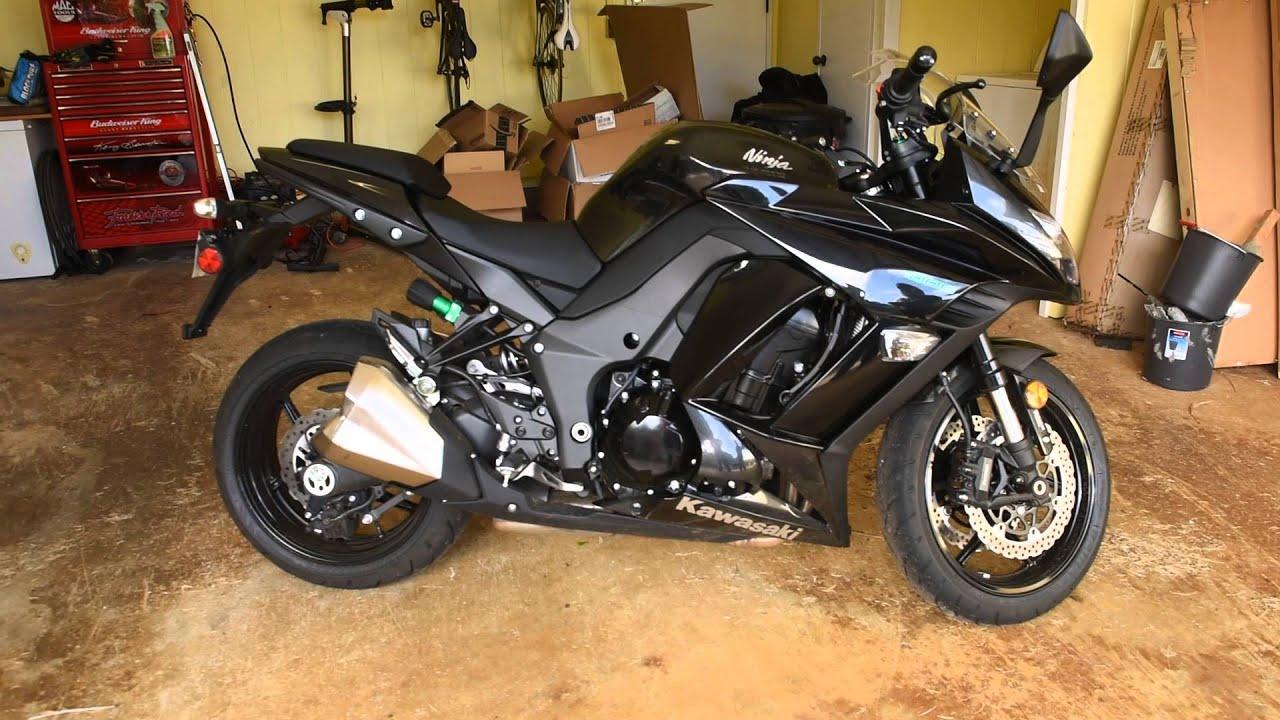 Kawasaki ninja 1000 2014 black