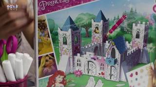 Princess Castle - How To Make a Cardboard Princess Castle! | Arts and Crafts