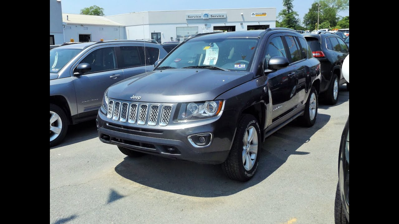 2015 jeep compass limited 4x4 start up tour and review. Black Bedroom Furniture Sets. Home Design Ideas