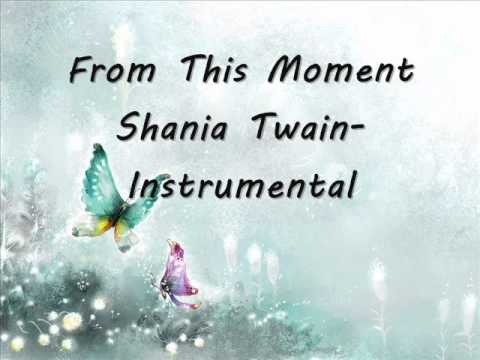 Shania Twain-From this moment instrumental