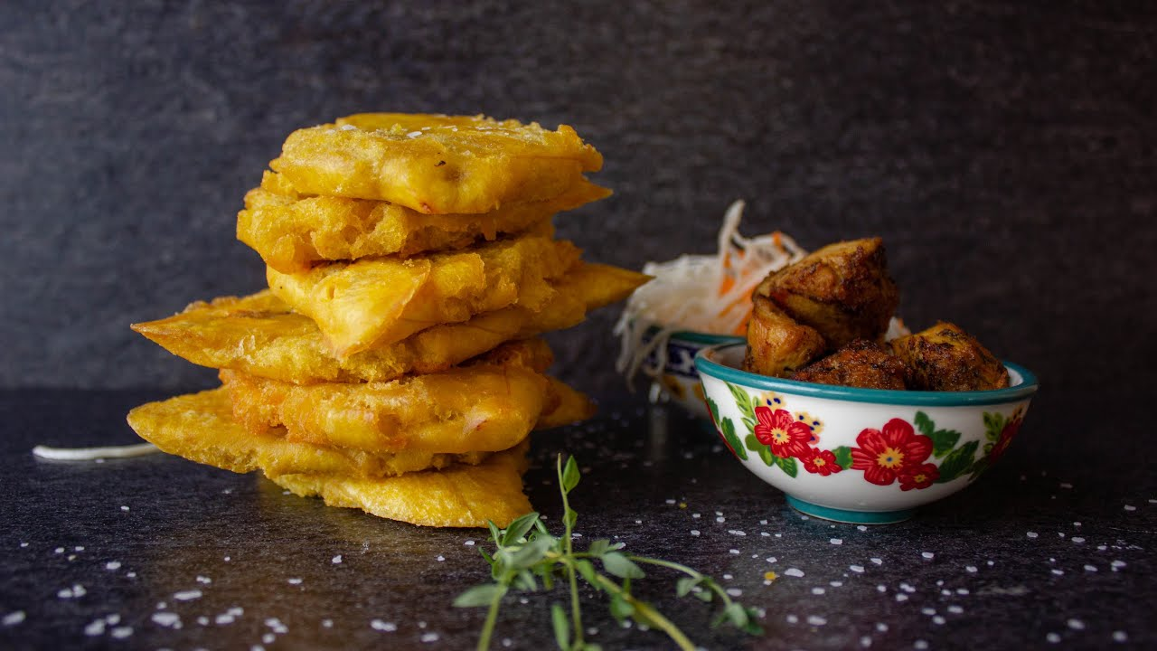 How To Make Banann Peze ( Fried Plantains) | Episode 4 ...