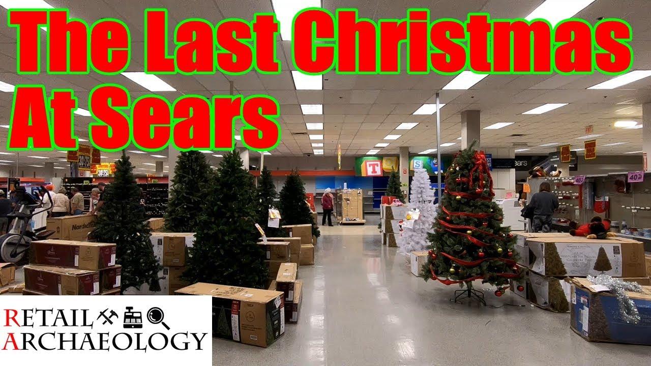 Sears Christmas Photos.The Last Christmas At Sears Retail Archaeology