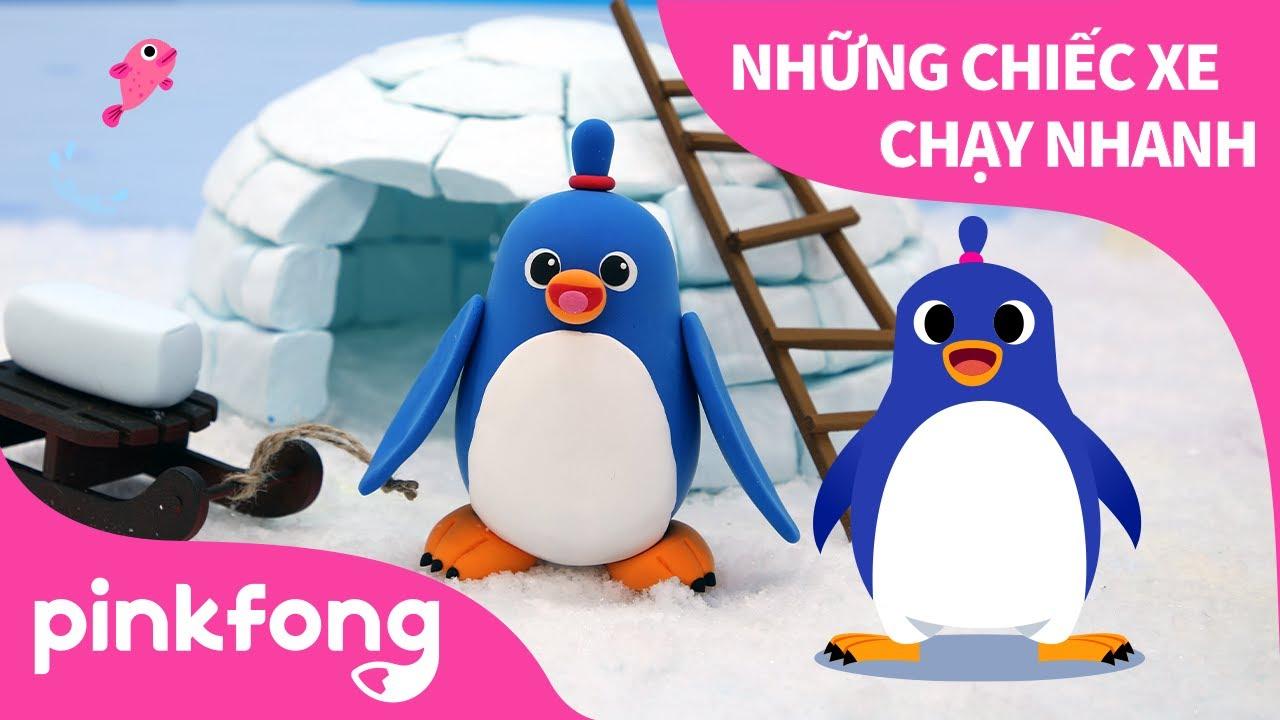 Điệu Nhảy Chim Cánh Cụt và làm Cánh Cụt bằng đất sét | Pinkfong! Những bài hát cho trẻ em